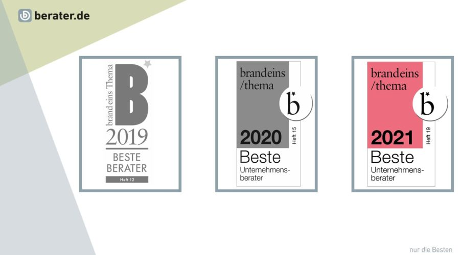 berater.de erneut bestes Beraternetzwerk Deutschlands